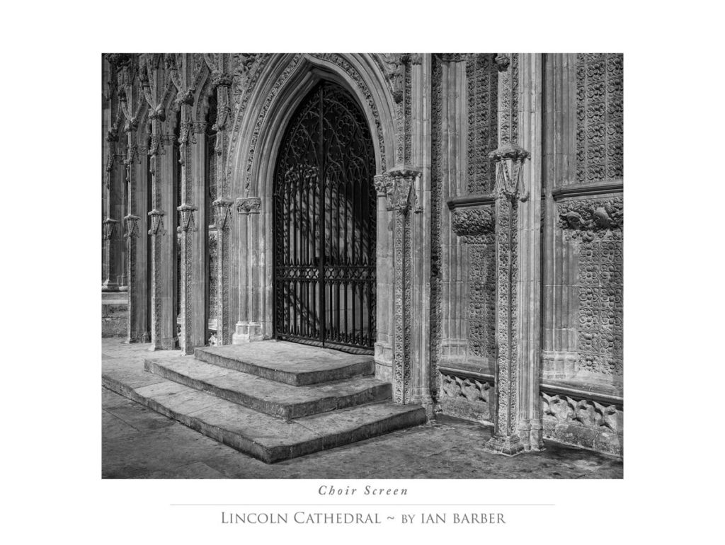Lincoln Cathedral Choir Screen
