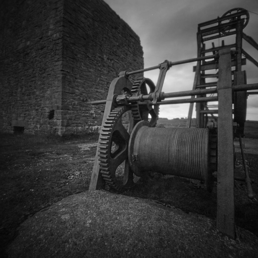 Magpie Mine winch